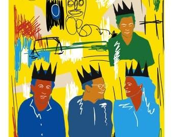 Seinfeld > Basquiat A3 Print