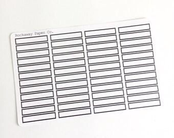 Skinny Labels Minimal - CUSTOM OPTION