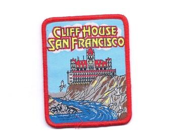 Vintage Cliff House San Francisco California Patch