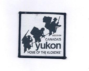 Vintage Canada's Yukon Klondike Patch