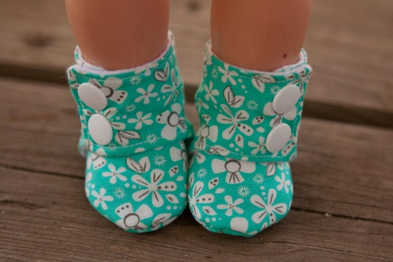 Doll Bootie Pdf Pattern Diy Doll Shoes For 18 Doll