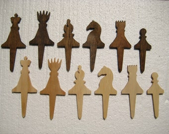 Individual Chess Pieces