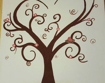 Wedding or Baby shower guest tree
