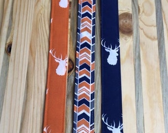 Buck & Arrow Print Pacifier Clips for your Binky