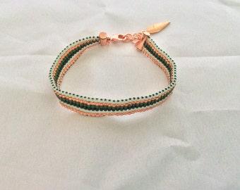 Miyuki delica beads bracelet.