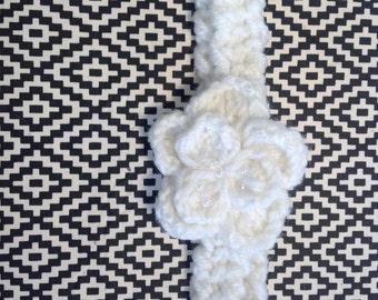 "Handmade Knitted Headband  ""The Charlotte""  CH003"