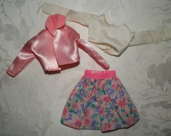Barbie Outfit & Heels - Beautiful Set Barbie Vintage