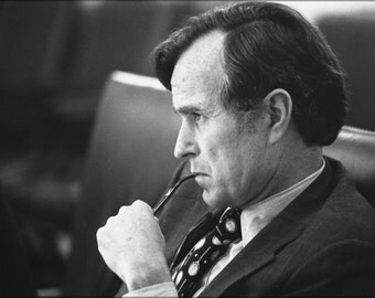 24x36 Poster . Cia Director George H.W. Bush 1976 Before Becoming President