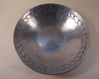 Palmer Smith Aluminum Bowl Pre-WWII Production
