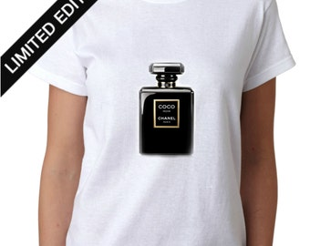 Coco Chanel Black Perfume T-shirt