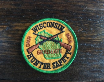 Wisconsin Hunter's Safety Graduate Patch