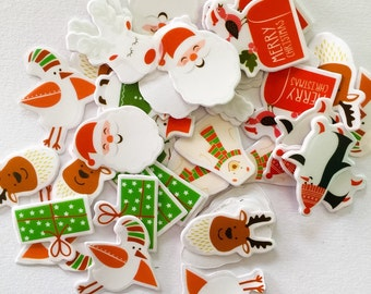 Christmas Flake Sticker Pack!