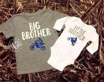 Dirt Bike Big Brother Little Brother Set