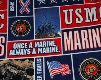 US Marines Fleece Blanket