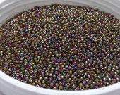 Toho 11/0 Japanesse Seed Beads 11-459 Color Gold Lustered Dark Topaz 5g/10g/20g/30g
