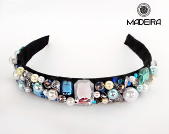 Hair band in the style of D&G