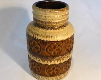 """West German Scheurich """"Foligna"""" vase - original from the 1960s"""