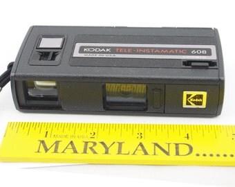 Vintage Kodak Tele-Instamatic 608 Camera