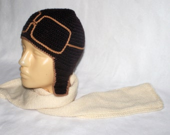 Knitted set of pilot