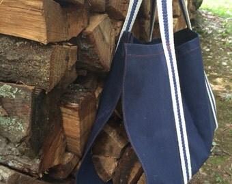 Canvas Log Carrier,  Canvas Firewood Carrier, Canvas Log Carrier, Log Carrier, Wood Carrier, Firewood Carrier, Canvas Log Tote, Canvas Tote