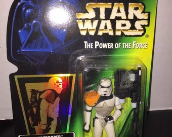 Star Wars The Power of The Force Sandtrooper Action Figure