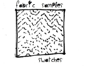 Fabric samples / Swatches