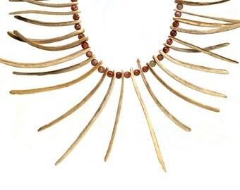 Coconut Sunstone Necklace