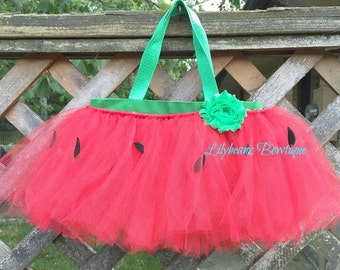 Watermelon Tote, Trick-or-Treat Bags, Flower Girl Gifts, Wedding Party Gifts, Party Favors, Goodie Bags, Gift Bags, Toddler Gift, Kids Gifts