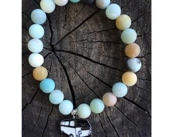 Amazonite gypsy pendant bracelet!