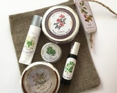 Organic Make-up Set, Vegan, Non-Mineral Makeup,  Green Beauty Make-up Set, Cosmetic Detox, Cosmetic Gift Set