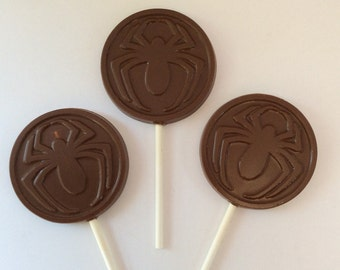 100 Spider Chocolate pops