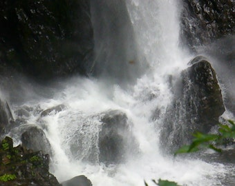 Overflow at Silver Falls Greeting Cards