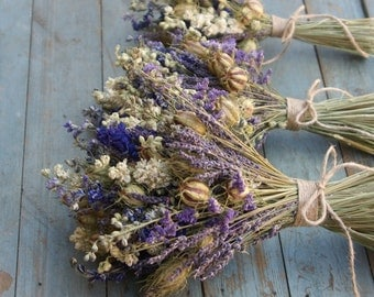 Provence Dried Flower Bouquet