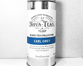 Earl Grey Black Tea Blend with bergamot oil - Loose Leaf Tea