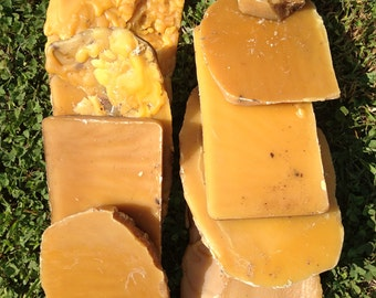 Raw unfiltered beeswax