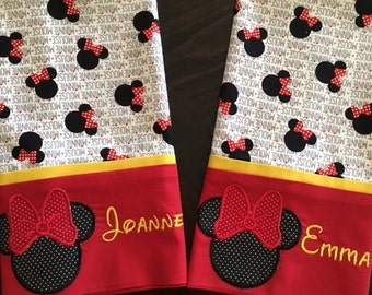 Minnie Mouse Inspired Pillowcase