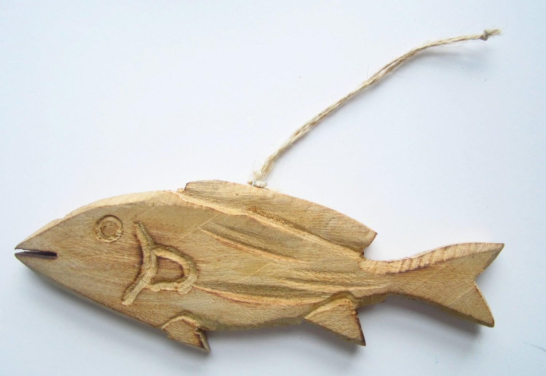 Fish christmas ornaments -  7 95