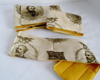 Belly Band - Male Dog Diaper - Reusable Dog Diapers - Male Wrap - Union Army Pee Pad