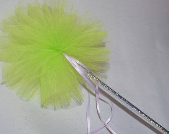 Tinkerbell Fairy wands custom made for any party with the theme and colors in mind.