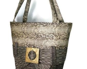 "Carole Kyle Everyday Handbag ""snake skin"""