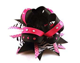 Stacked Boutique style Hair Bow