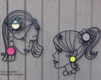 Doll Face Wall Decor Set