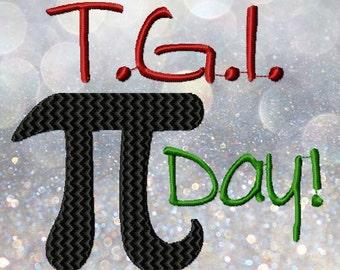 T.G.I. Pi Day!