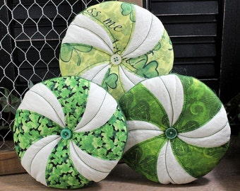 Pinwheels Bowl Fillers Cupboard Tucks 3-Set St. Patrick's Day