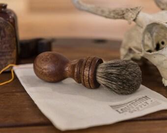 Handmade Badger Shave Brush //  Wet Shaving Brush Made To Order