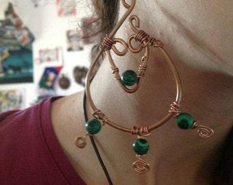 Kira handmade earrings