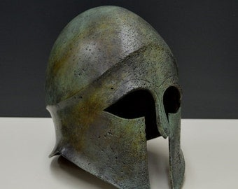 ON SALE Ancient Greek Helmet Bronze aged