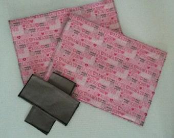Valentine Place mat Set of 2