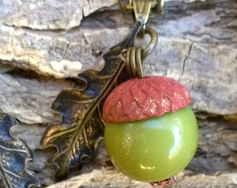 Forever Young Acorn Pendant