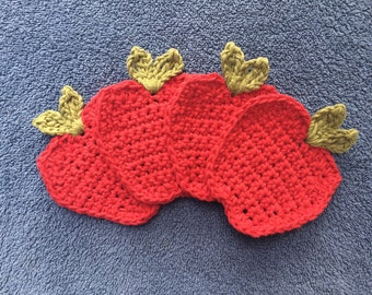 Red Apple Coasters